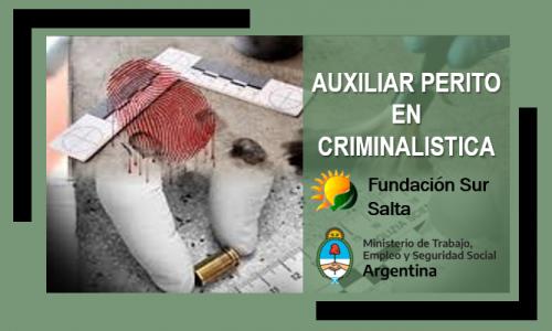 Auxiliar Perito en Criminalística Modulo 4